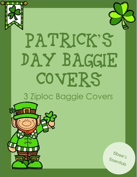 St. Patrick's Day Baggie Covers