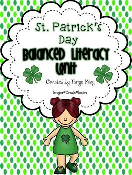 St. Patrick's Day:  Balanced Literacy Unit