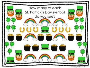 St. Patrick's Day Bar Graph and Pictograph Activity