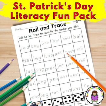 St. Patrick's Day Literacy Fun Pack