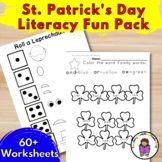 St. Patrick's Day Literacy Fun Pack