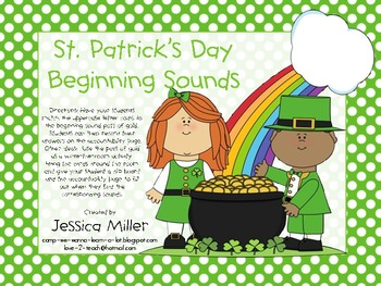 St. Patrick's Day Beginning Sounds