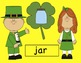 St. Patrick's Day - Beginning Sounds Shamrocks SMARTboard Activity