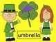 St. Patrick's Day - Beginning Sounds Shamrocks SMARTboard