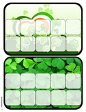 """St. Patrick's Day"" Behavior Token Boards for Autism"