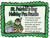 St. Patrick's Day Big Bundle of Homework Passes and Magic Pudding