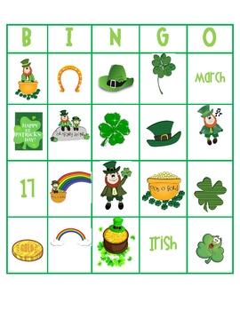 photograph regarding St Patrick's Day Bingo Printable called St. Patricks Working day Bingo!