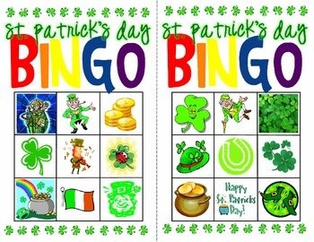 St. Patrick's Day Bingo Mini