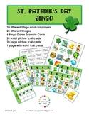 FREE St. Patrick's Day Bingo: 24 Cards {A Hughes Design}