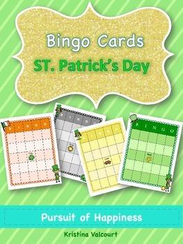 St. Patrick's Day - Bingo Cards
