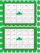 St. Patrick's Day Bingo, Find the Missing Addend
