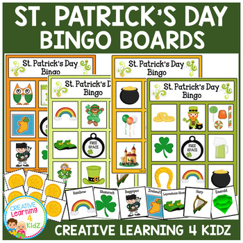 St. Patrick's Day Bingo Lotto Game