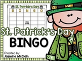 St. Patrick's Day Bingo-St. Patrick's Day Themed Bingo Game