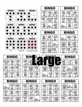 St. Patricks Day Bingo - Verbs