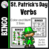 St. Patricks Day Bingo - Verbs