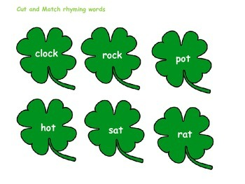 St Patrick's Day Blending Games