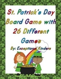 St. Patrick's Day Board Game with 26 Card Games Bundle