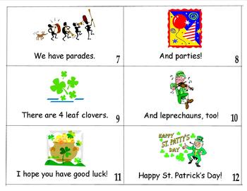 St. Patrick's Day Book