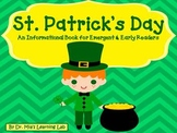 St. Patrick's Day Book (an informational book for early/emergent readers)