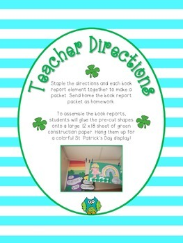 St. Patrick's Day Book Report