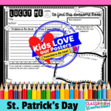 St. Patrick's Day Book Report Poster Activity {Lucky Me}