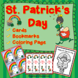 St. Patrick's Day: Cards, Bookmarks, and Coloring Page