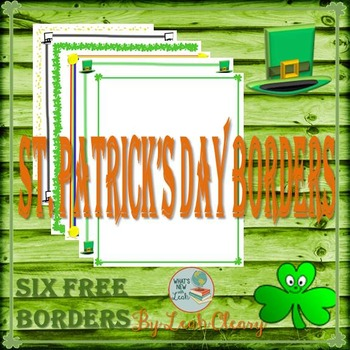 St. Patrick's Day Borders