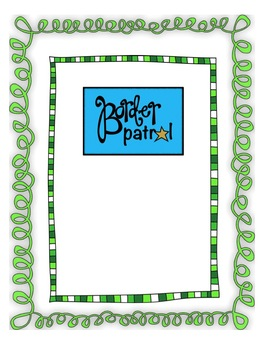 ST. PATRICK'S DAY Borders & Frames