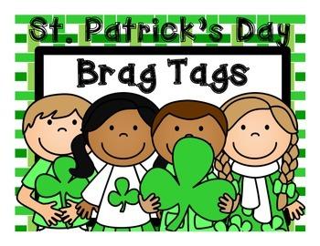 St. Patrick's Day Brag Tags