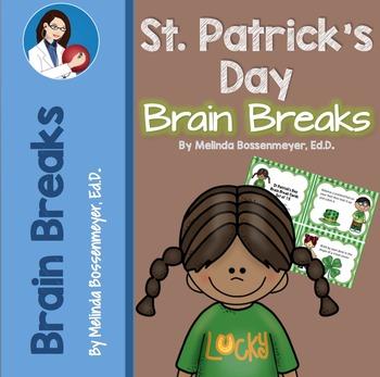 St. Patrick's Day Brain Break Cards