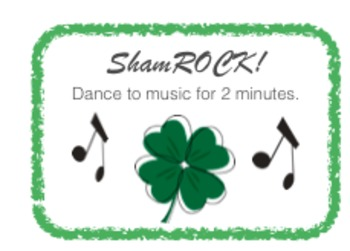 St. Patrick's Day Brain Breaks and Challenges