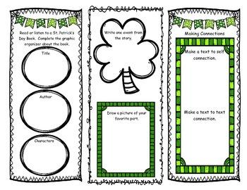 St. Patrick's Day Brochure- NO PREP Printable
