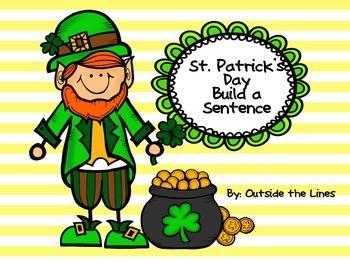 St. Patrick's Day Build a Sentence