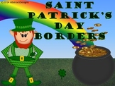 St. Patrick's Day Bulletin Board Borders