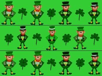 St. Patrick's Day Bulletin Board Borders