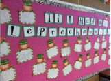 St. Patrick's Day Bulletin Board and Writing Activity -If I Had a Leprechaun..-