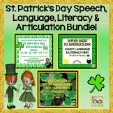 St. Patrick's Day Bundle: Speech, Language, Literacy & Articulation Bundle