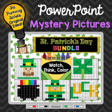 St. Patrick's Day Bundle Watch, Think, Color Games - EXPAN