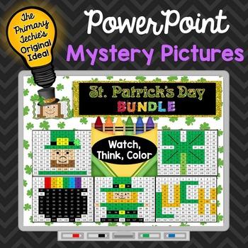 St. Patrick's Day Bundle Watch, Think, Color Games - EXPAN