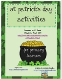 St. Patrick's Day Bundle of Activities for Primary Learners