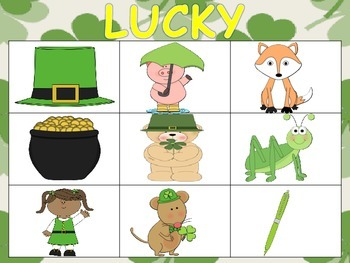 St. Patrick's Day CCLS centers and activities