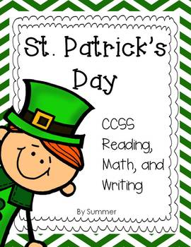 St. Patrick's Day CCSS aligned