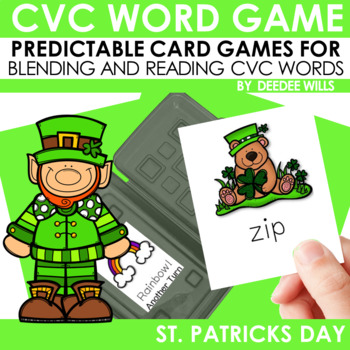 St Patricks Day CVC Memory Match and Pot-Of-Gold Game