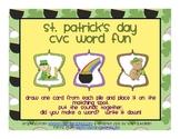 St. Patrick's Day CVC Words