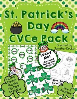 St. Patrick's Day CVCe Pack