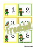 St. Patrick's Day Calendar Cards {ABCC Pattern}