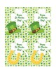 St. Patricks Day Cards for Student from Teachers