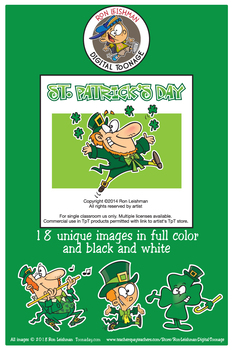 St. Patrick's Day Cartoon Clipart
