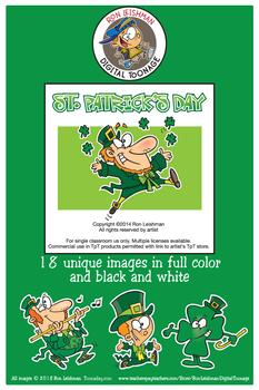 St. Patrick's Day Cartoon Clipart