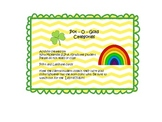 St. Patrick's Day Speech Therapy Categories and Spring Categories